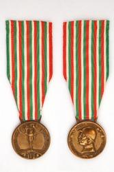 Commemorative medal of the Italian-Austrian war 1915-1918 WWI