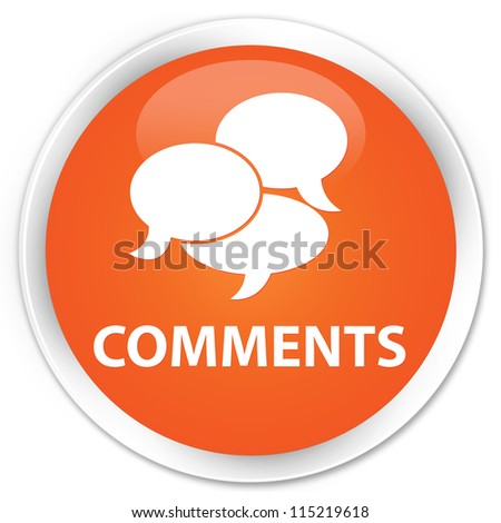 Comments orange button
