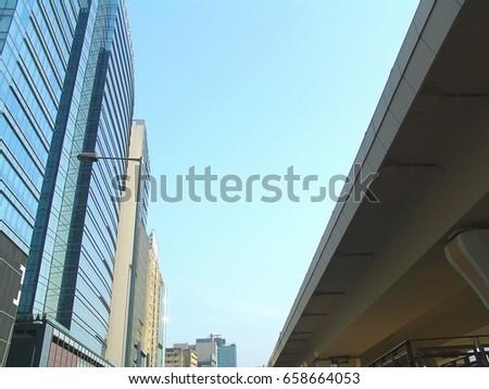 Commercial buildings in Kwun Tong, Hong Kong #658664053