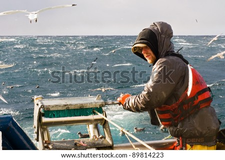 Commercial Fishing #89814223