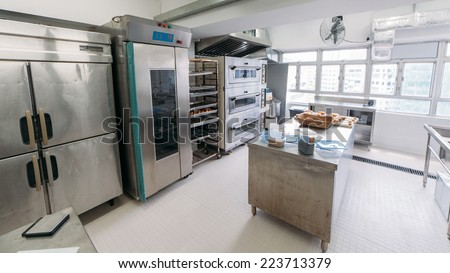 Commercial Kitchen Bakery Stock Photo 223713379 Shutterstock