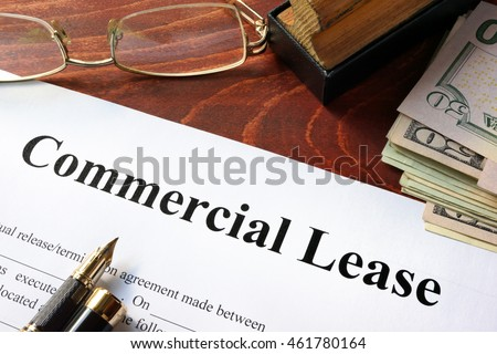 commercial lease agreement with ...