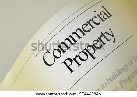 Commercial property: newspaper headlines with text background #574465846