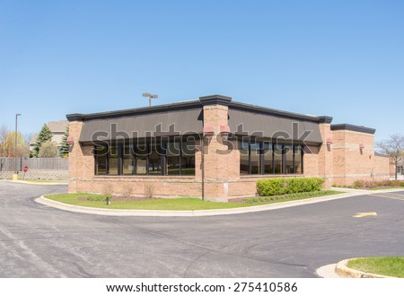 commercial retail restaurant building or small office building