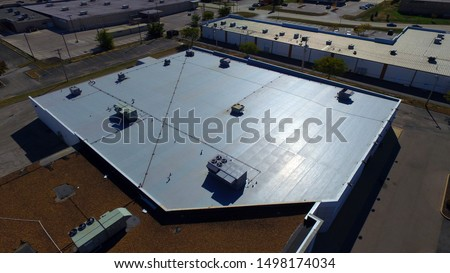 Commercial roof repair and construction Photos. #1498174034