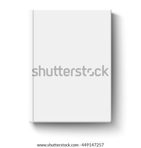 Common book cover placed on white background #449147257