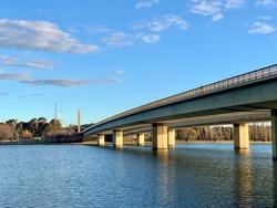 Commonwealth Avenue Bridge Canberra ACT Australia