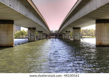Commonwealth Bridge in Canberra Australia
