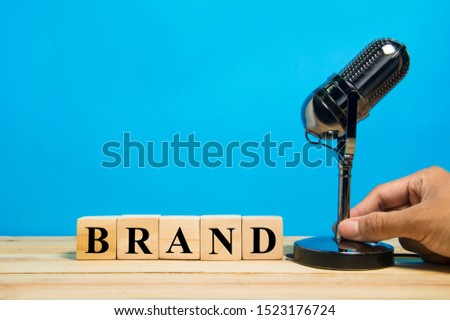 communicate the story of brand; storytelling strategy concept