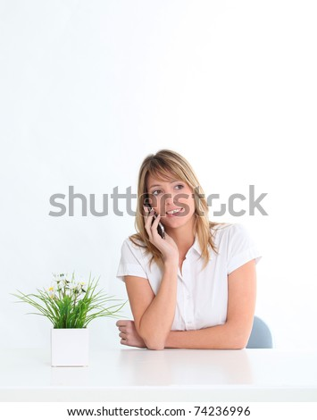 Communication and electronic device recycling - stock photo
