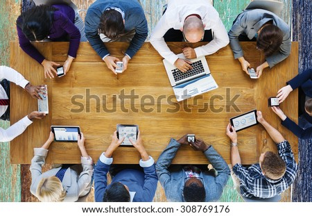 Shutterstock Communication Connection Digital Devices Technology Concept