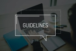 COMMUNICATION WORKING TECHNOLOGY BUSINESS GUIDELINES CONCEPT