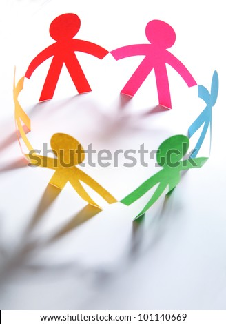 community circle - stock photo