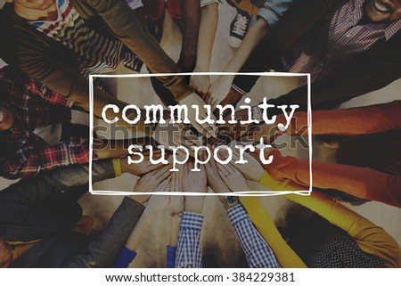 Community Support Diversity Society People Concept