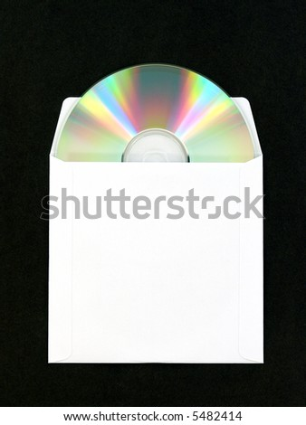 compact disc in envelope sleeve