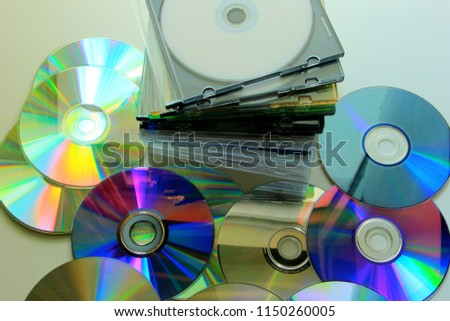 Compact Disc with a plastic cover #1150260005