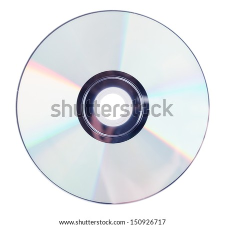 compact discs on a white background Сток-фото ©