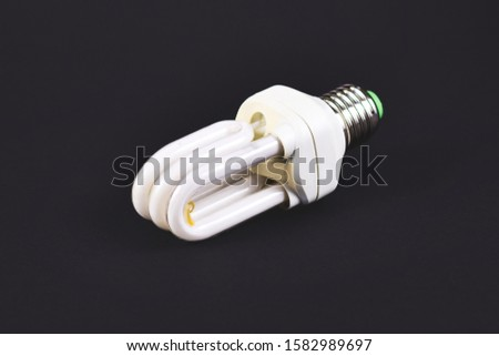 Compact energy saving fluorescent tube lamp, banned as part of phasing out of inefficient light sources in the European Union as part of Ecodesign laws