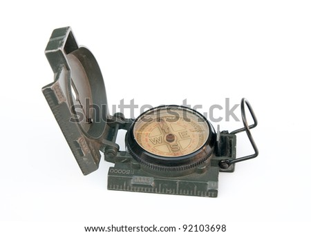 Compass for the military.