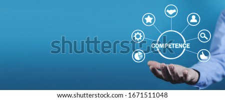 Competence concept. Business. Internet. Technology Stock photo ©