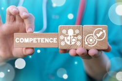Competence Skill Personal Development Medical Concept. Medicine Personnel roles and responsibilities. Duty Liability Healthcare Workers.