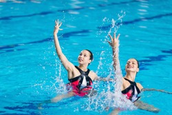Competition in Synchronized Swimming