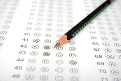 Competitive exam answer sheet to measure intelligence
