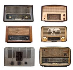 compilation of old vintage radio