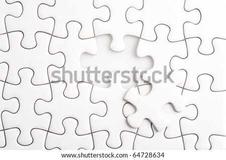 Complete the missing jigsaw puzzle piece, business concept for completing the final puzzle piece