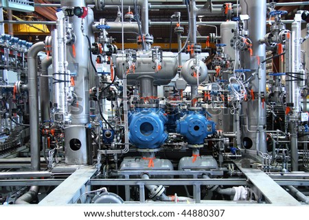 Complex natural gas  compressor station