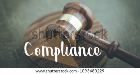 COMPLIANCE AND LAW CONCEPT #1093480229