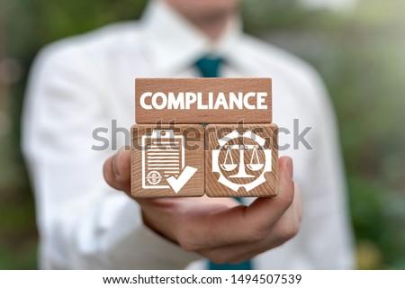 Compliance Standard Regulation Balance Business concept. Stock photo ©