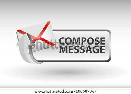 compose message button, compose message icon and button