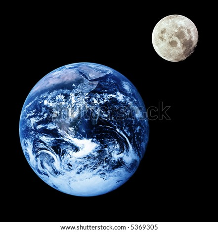 images of moon from earth