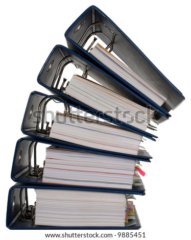 Composition of a lot of documents and catalogs