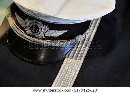 Composition of a uniform from commander of the army