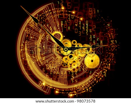 and clock abstract concept - photo #11
