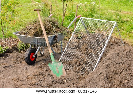 compost pile sieve