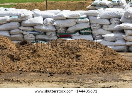composting ecological in farm