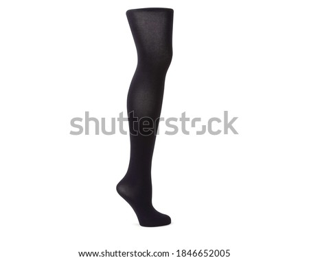 Compression Hosiery. Medical Compression stockings and tights for varicose veins and venouse therapy. Tights for man and women. Clinical compression knits. Comfort maternity tights for pregnant women. Stock photo ©