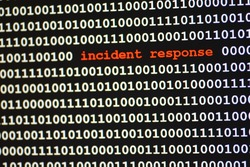 computer code says incident response
