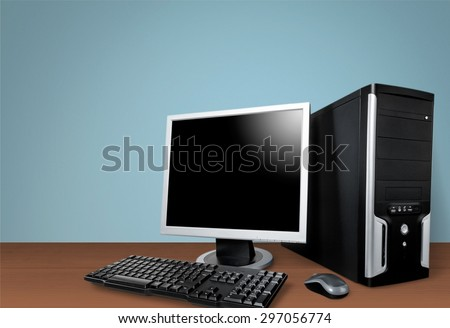 Computer, Desktop PC, PC. #297056774