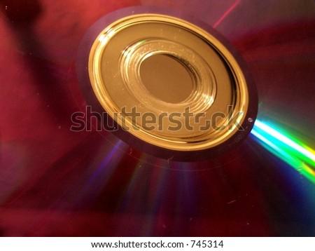 computer disc - stock photo
