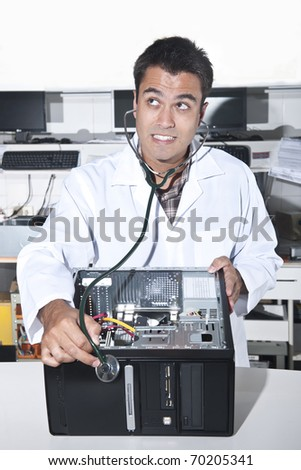 Computer doctor with PC