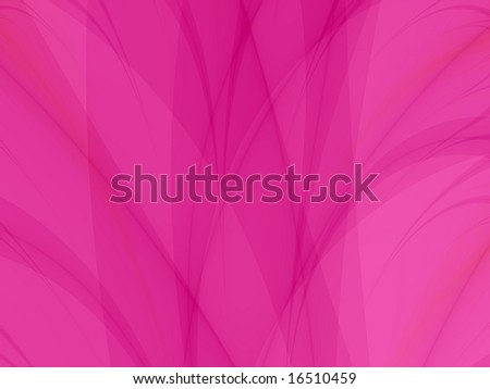 Computer generated abstract image in a pink background design.