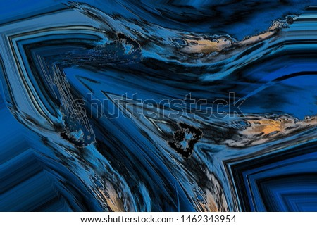Computer generated art digital illustration special effects distortion effect reflection effect dynamic motion background