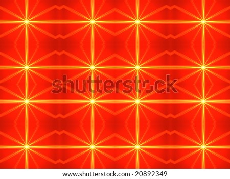Computer generated illustration:abstract colorful background-ideally for Christmas postcards.