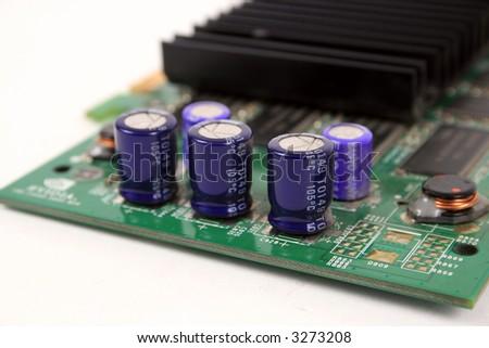 Computer graphics card