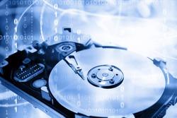 Computer hard-drive and binary codes