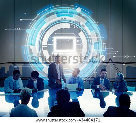 Computer Information Technology Connection Concept #434404171